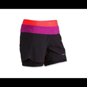 Marmot Pulse shorts with compression liner